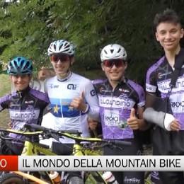 Casnigo, in mountain bike con i Ciclisti Valgandino e il campione europeo Campana