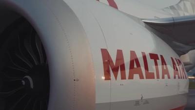 Il primo Boeing 737-8200 basato a Orio dal gruppo Ryanair con la livrea Malta Air