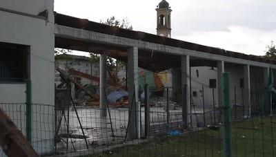 Lurano, la devastazione dopo la tempesta