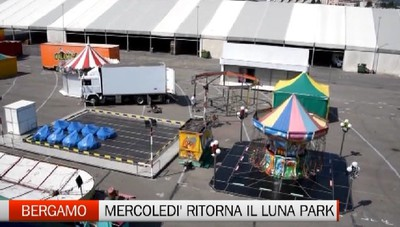 Bergamo - A Sant'Alessandro ritorna il luna park