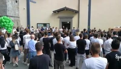 Il funerale di Kevin Mecca