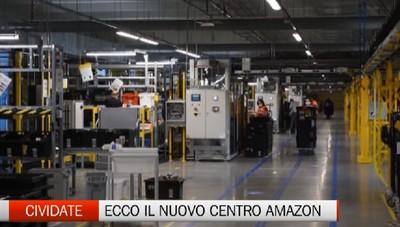 Cividate al Piano - Inaugurato il centro di distribuzione Amazon