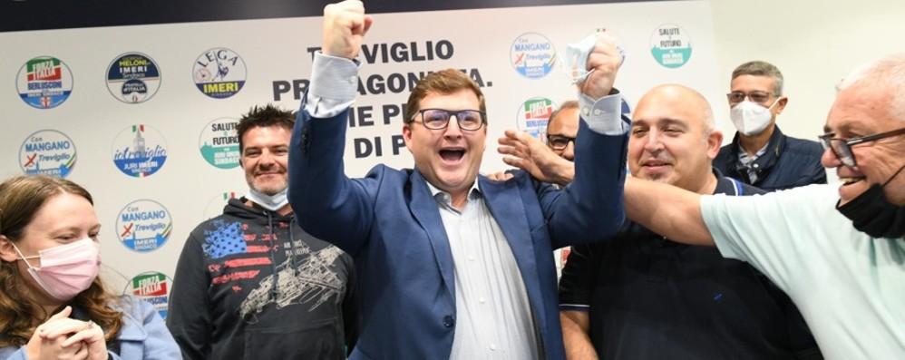 A Treviglio Imeri festeggia, Caravaggio va al ballottaggio. Bertocchi ad Alzano e Drago a Cologno