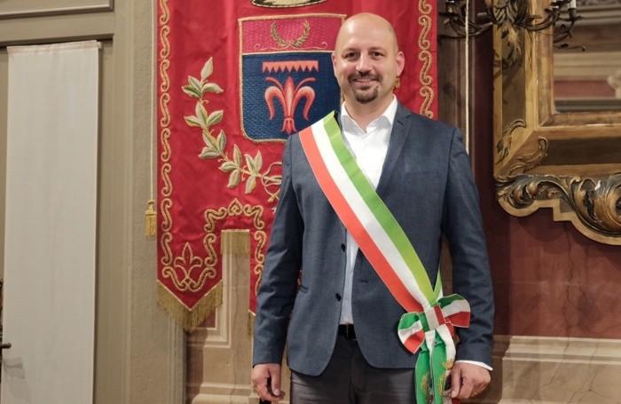 Camillo Bertocchi è stato rieletto sindaco di Alzano. I festeggiamenti.