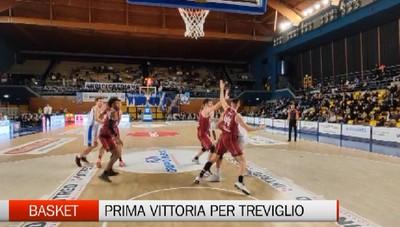 Basket, Gruppo Mascio Treviglio-Trapani 86-70