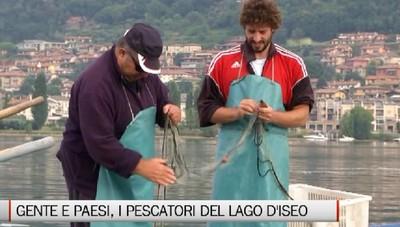 Gente e Paesi, i pescatori del Lago d'Iseo