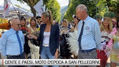Gente e Paesi, le moto d'epoca a San Pellegrino Terme