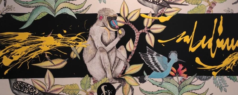 «Il cerchio delle vita»:  le opere di Sisi dove il dolore si trasforma in colore ed energia -Foto