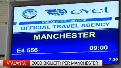 Manchester United-Atalanta, biglietti in vendita da venerdì 8 ottobre