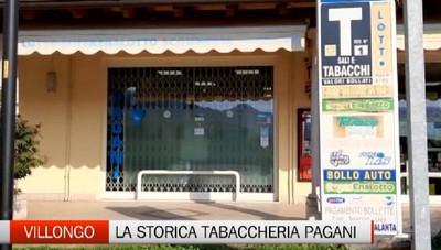 Villongo, la storica tabaccheria Pagani vende l'attività