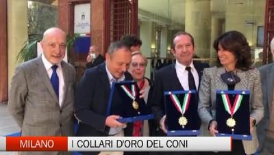 Milano, i Collari d'Oro del Coni a cinque ciclisti bergamaschi