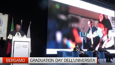 Bergamo, il Graduation Day dell'Università