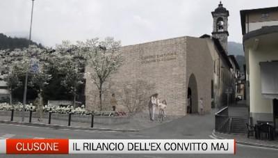 Clusone, il progetto di rilancio dell'ex convitto Angelo Maj