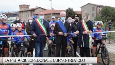 Inaugurata la passerella ciclopedonale Curno-Treviolo