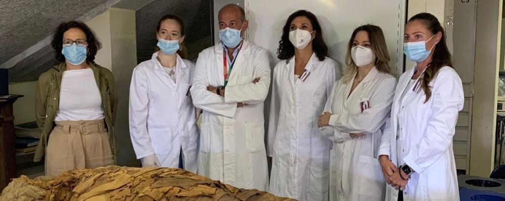 Museo archeologico, l'identikit della mummia sarà in diretta
