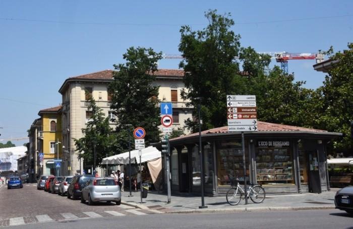 Piazza Sant'Anna nel 2021