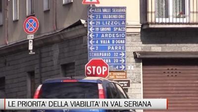 Viabilità, le priorità dell'Alta Valle Seriana