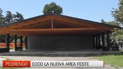 Pedrengo, la nuova area feste al coperto