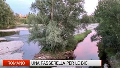 Romano studia una passerella per le bici sul fiume Serio