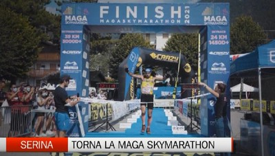 Val Serina, il ritorno della Maga Skymarathon